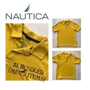 Boys NAUTICA Cotton Polo Shirt (M 10-11)